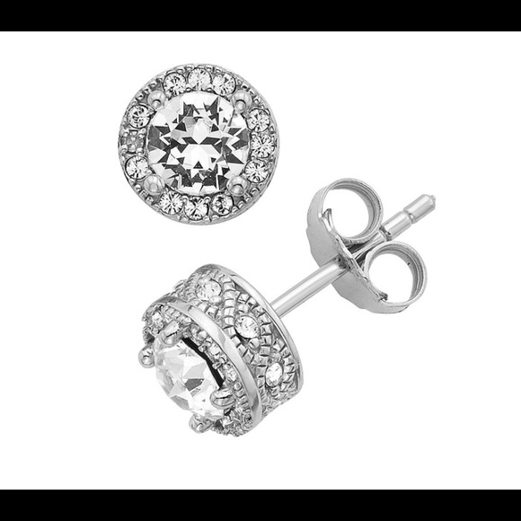 8c6e3a738 netaya Jewelry | Diamond Halo Stud Earrings | Poshmark